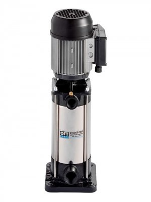 Multistage vertical electric pumps