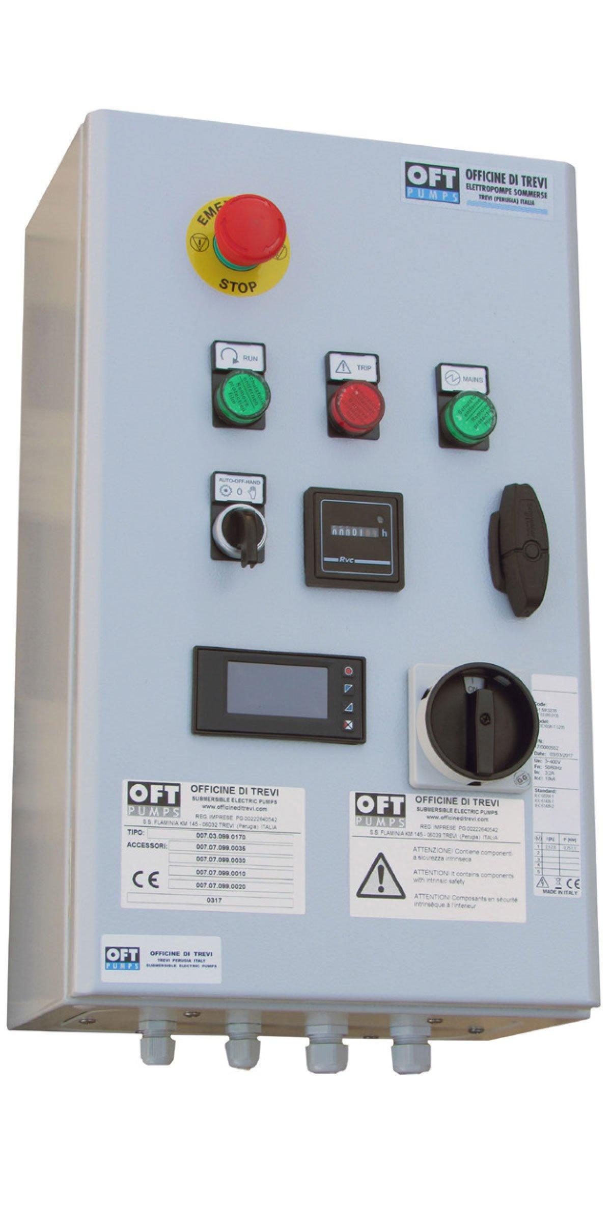 Accessori per elettropompe sommerse ATEX