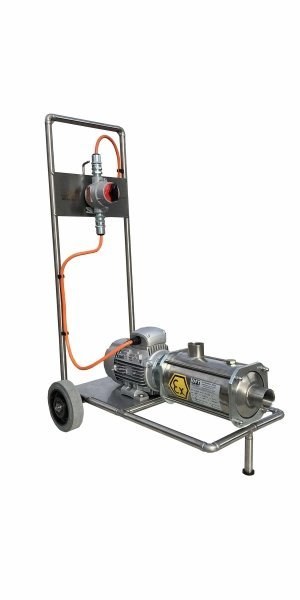 Electric pump trolley