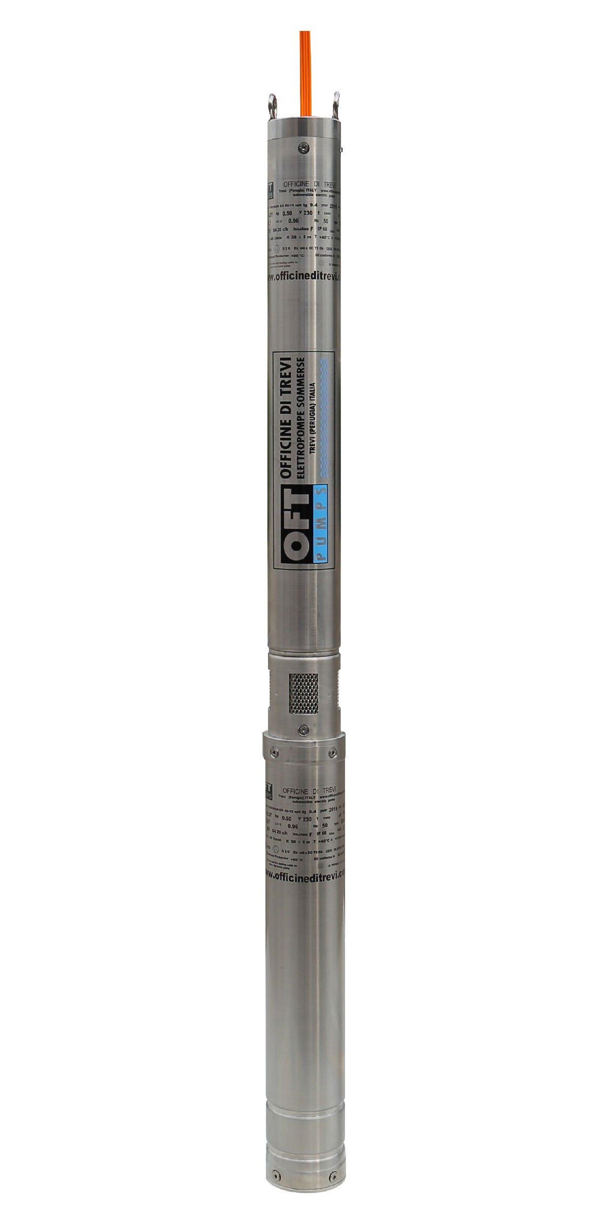 Elettropompe 3″ per liquidi contaminati