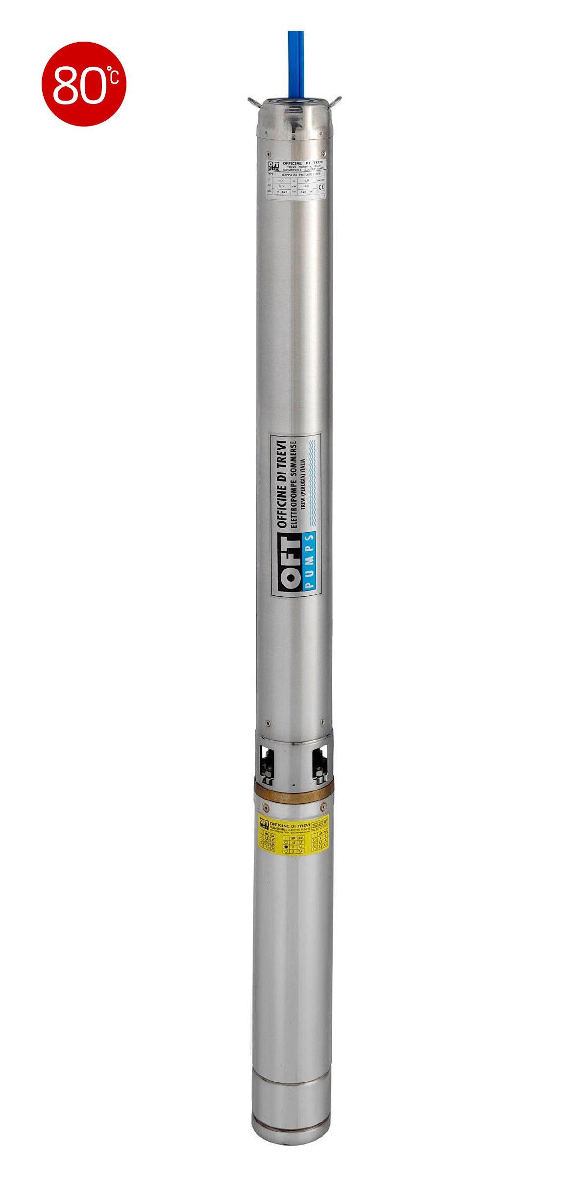 Elettropompe 4″ per liquidi contaminati max 80 °C