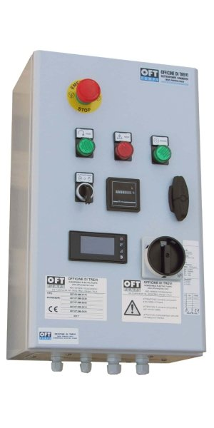 All-in-one Basic control panel with ELECTRONIC LEVEL TRANSMITTER