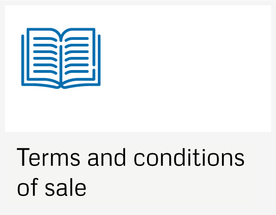 Terms and conditions on sale