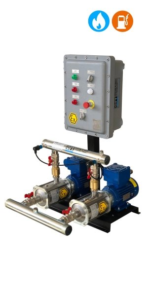 Sistema di pressurizzazione Atex